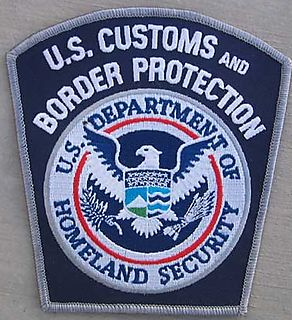 Us Customs badge