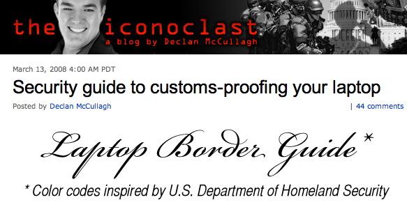 Blog on custom security
