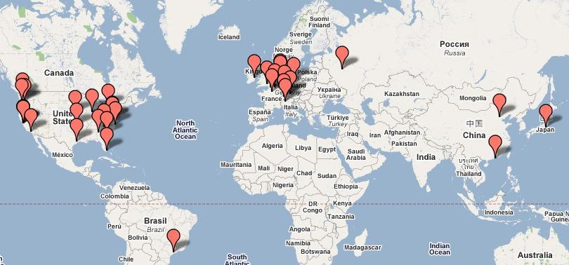 Data Centers Google Monde