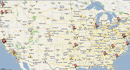 Data Centers Google USA