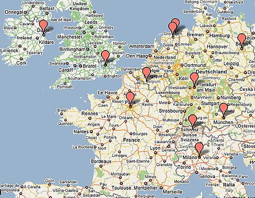 Data Centers Google Europe