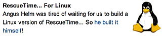 RescueTime for Linux