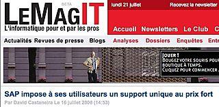 LeMagIT sur SAP