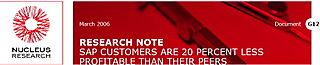 NUcleus sur SAP 20%