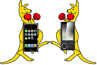 Iphone vs Gphone