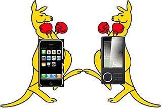 Iphone vs Gphone