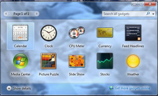 Windows 7 screen 2