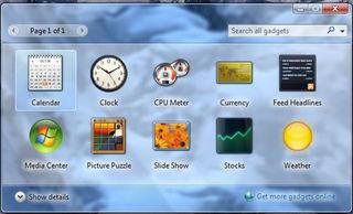 Windows 7 screen 2