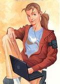 Girl Digital millenial