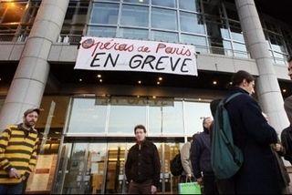 Opéras de Paris en grève
