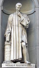 Statue Machiavel