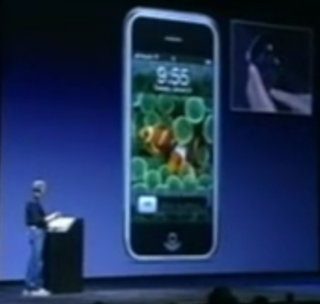 Iphone announced by Steve