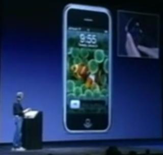 Iphone announced by Steve