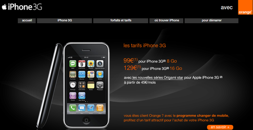 Orange et iPhone 2
