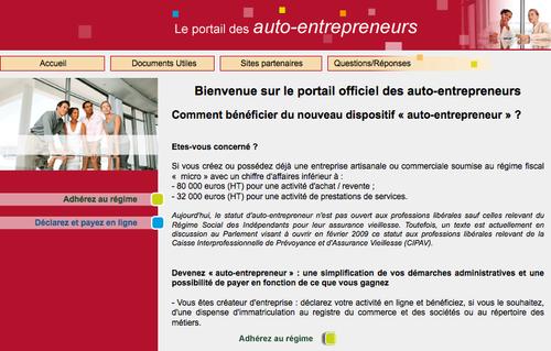 Site Autoentrepreneur