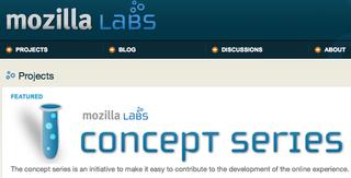Mozilla Labs HP