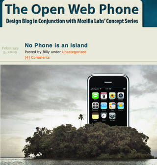 Open Web Phone