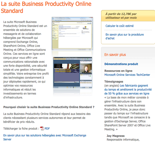 Business Productivity France