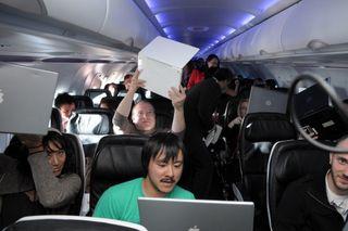 Virgin in-flight Wi-Fi