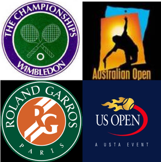 Logos tennis grand chelem