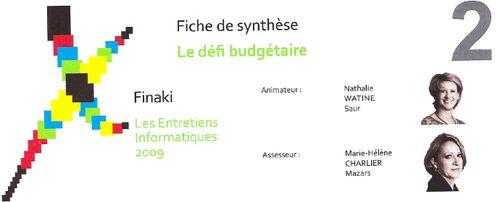 Fiche synthèse Défi budgétaire