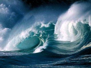Waves many