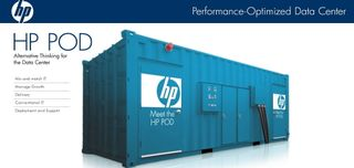 HP POD Container Data Center