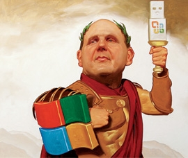 Ballmer defend its empire