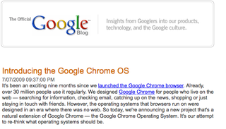 Official Google Blog Chrome OS