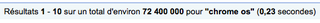 Search Chrome OS = 72 M