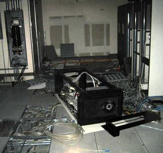 Abandonned data center