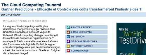 Cloud Computing Tsunami - French