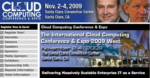 Cloud computing conference Nov Santa Clara