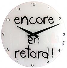 Horloge en retard