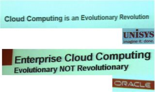 Cloud evolutionary-Revolutionary