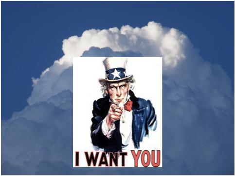 Cloud I want you