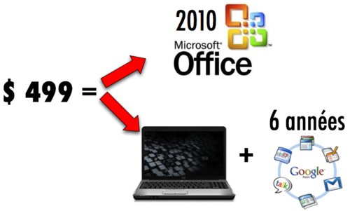 $499 - Office 2010 ou HP + Apps