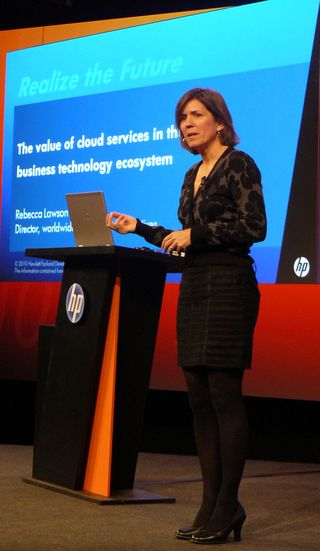 Rebecca Lawson, HP Cloud worldwide