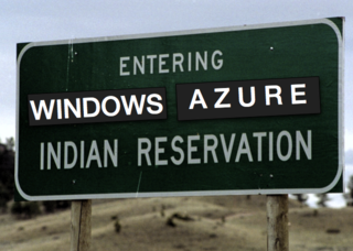 Indian reserve Windows Azure