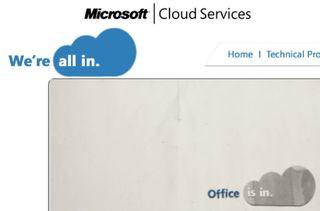 Microsoft Web Site We are all in 2