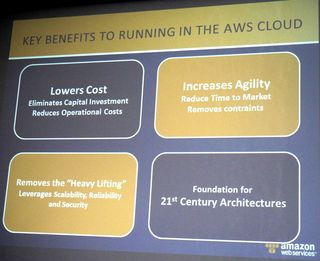 Key Benefits AWS Cloud