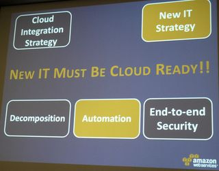 AWS new IT strategy