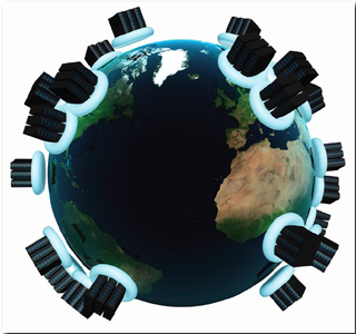 Cloud Data centers on the world