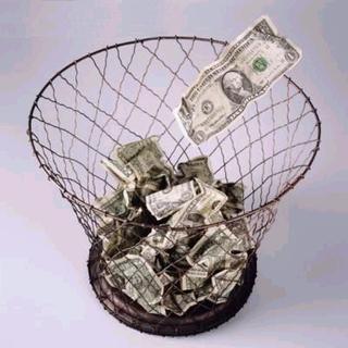 Throwing-away-money