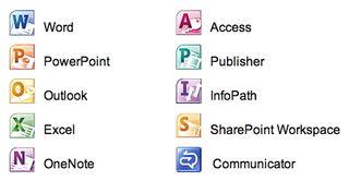 Office 2010 composants