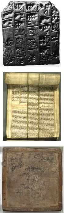Clay, Papyrus, Wax