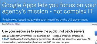 Google Apps for government