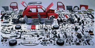 Composants voiture