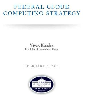 Federal Government Cloud Strategy