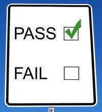 Test pass fail